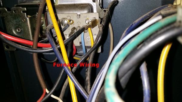 2 wire furnace wiring