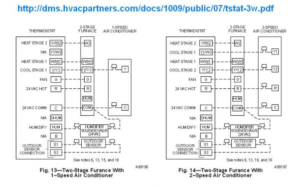 carrier thermidistat wiring diagram