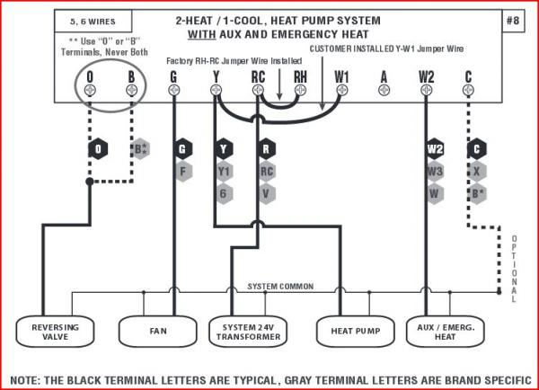 wiring diagram for honeywell thermostat ct87n