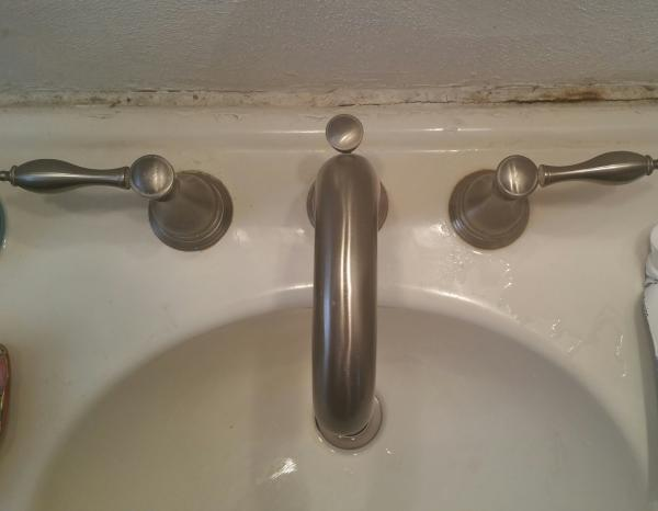 Trying To Extricate Bathroom Sink Handle To Change