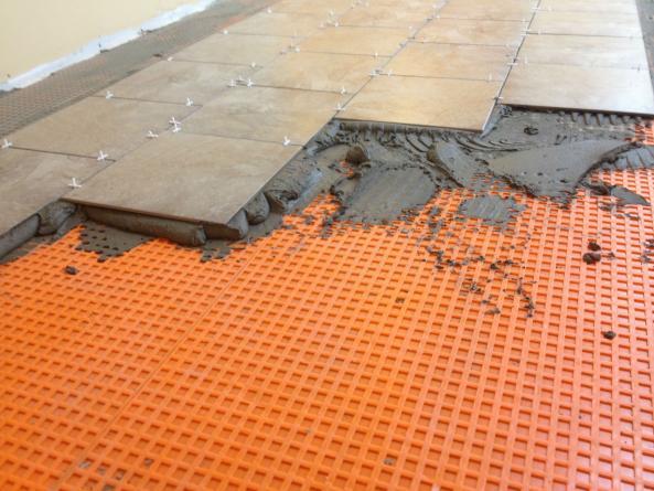 Ceramic Tile On Very Unlevel Floor Doityourselfcom