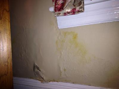 Plaster wall damage under window - DoItYourself.com Community Forums