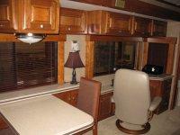 Custom RV Shade Valence Window Treatments - Monaco Executive