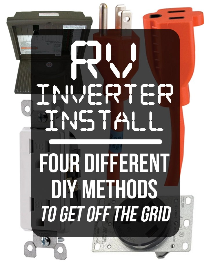 110 Volt Wiring Diagram Breaker Box Rv Inverter Install Four Different Diy Methods To Get Off