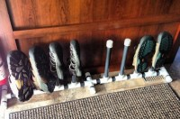 $25 RV Shoe Rack from PVC: Keep Things Tidy Around the ...