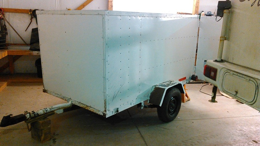 Diy How To Build A Micro Camper Trailer Instructions Photos