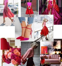 mont pink red