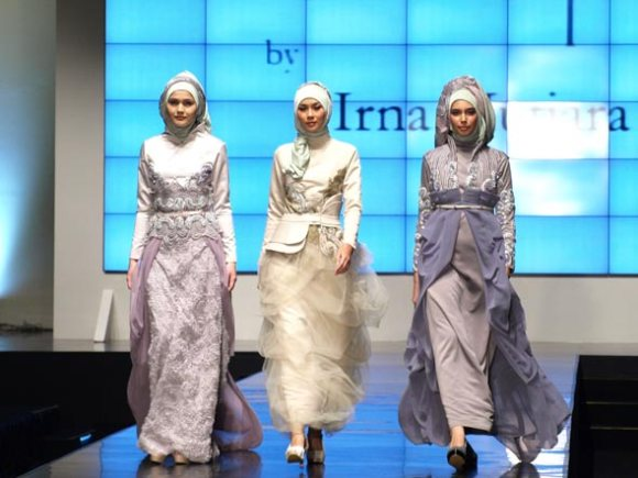 Gaun Muslim Modern 2012 - Gambar 1
