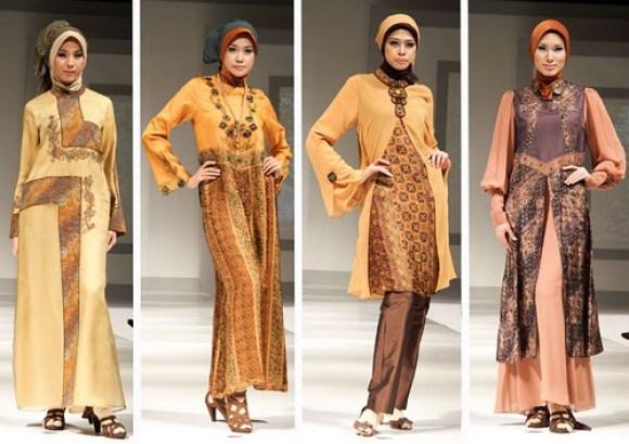 Gaun Muslim Modern 2012 - Gambar 2