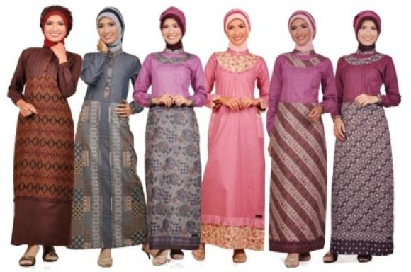 Gaun Muslim Modern 2012 - Gambar 3