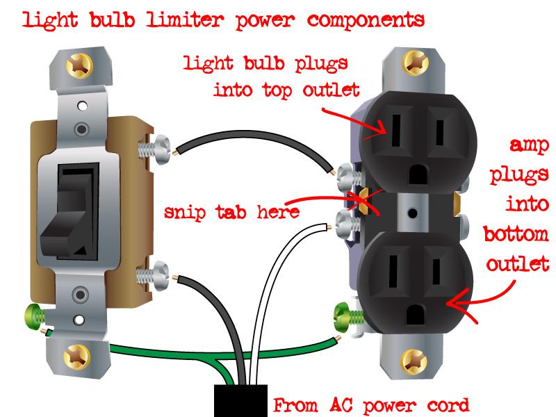 Wiring A Light Bulb standard electrical wiring diagram