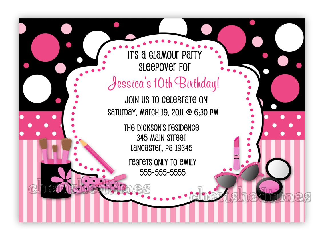 10th Birthday Party Invitation Wording Dolanpedia
