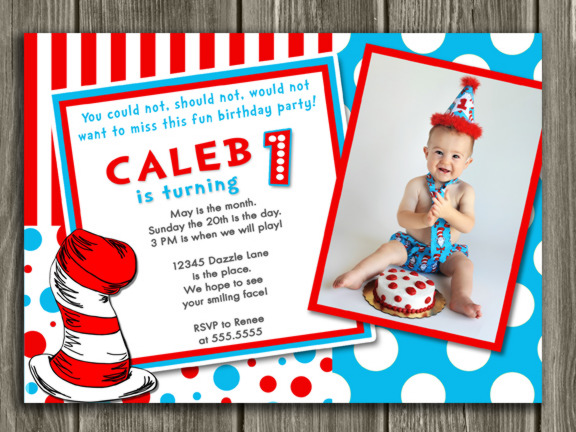 Free Printable Dr Seuss Birthday Invitations DolanPedia