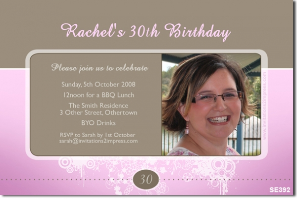 sample birthday invitation card for adults - Jolivibramusic - Birthday Card Sample