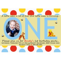 Small Crop Of First Birthday Invitations