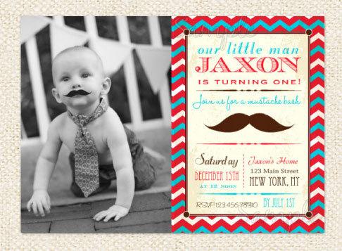 Little Man Birthday Party Invitations DolanPedia Invitations