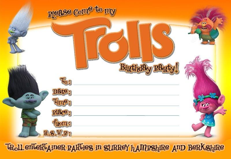 FREE Printable Trolls Invitation Template DolanPedia Invitations - get together invitation template