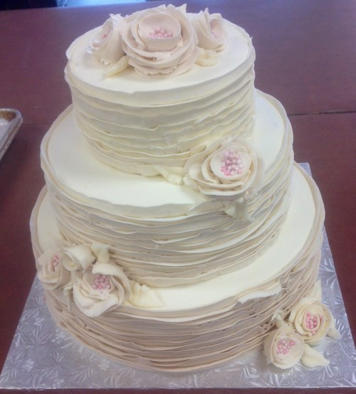 Medium Of Rustic Wedding Cakes