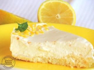 Cheesecake al Limone (Senza Latte e Senza Farina)