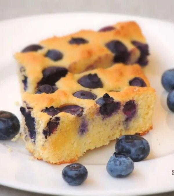 Torta di Mirtilli e Mandorle (Senza Glutine)
