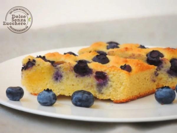 Torta di Mirtilli e Mandorle 5 photo