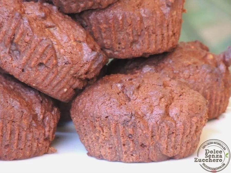 Muffin al Cioccolato Senza Farina (4)