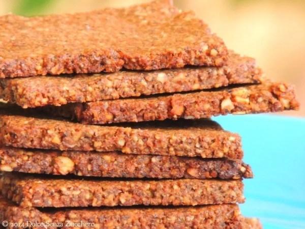 Biscotti secchi mandorle cacao e stevia 2 photo