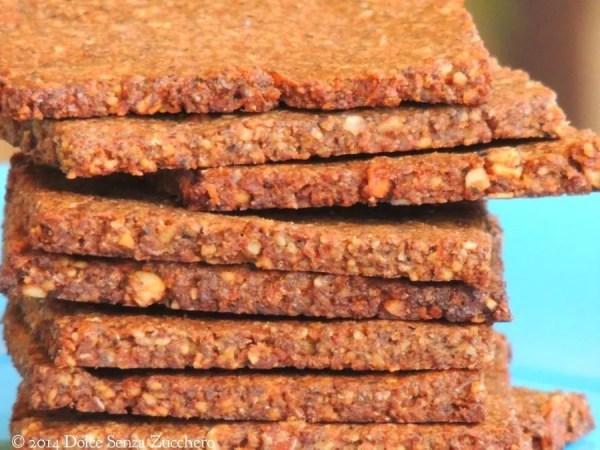 Biscotti secchi mandorle cacao e stevia 3 photo