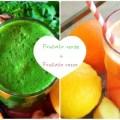 Frullato di verdure Verde e Rosso
