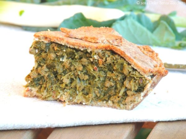 Pie di Carne Timo Porri e Verdure verdi 8 photo
