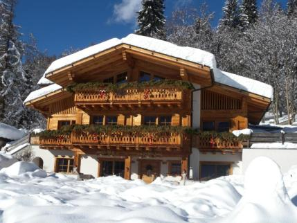 Lo Chalet d'inverno