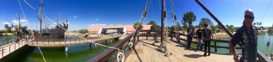 Una panoramica del Museo delle Tre Caravelle