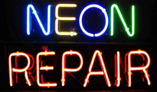 Neon Sign Repair Dollar Signs and Graphics - South Lake Tahoe