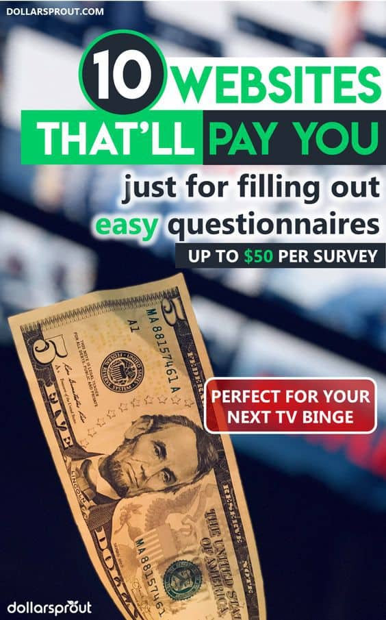 13 Best Places to Take Paid Online Surveys for Money (Up to $50/hr)