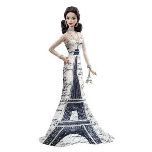 Barbie Collector Dolls of the World Eiffel Tower Doll by Barbie