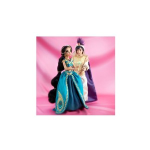 D23 Expo Disneys Fairytale Designer Collection Jasmine and Aladdin Limited Edition