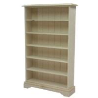 Bare Essentials 6 Shelf Bookcase