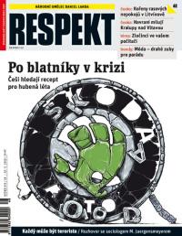 obálka týdeníku Respekt č.48/2008