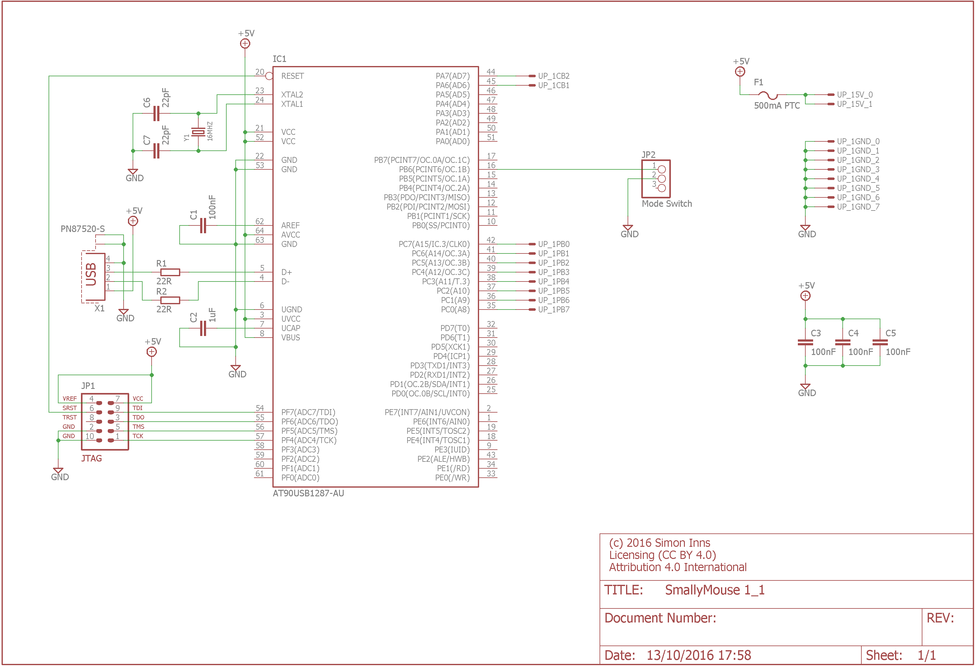computer mouse schematic