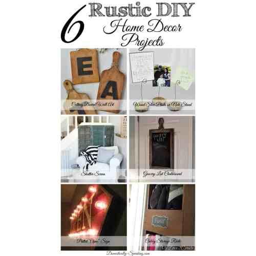 Medium Crop Of Diy Rustic Home Decor