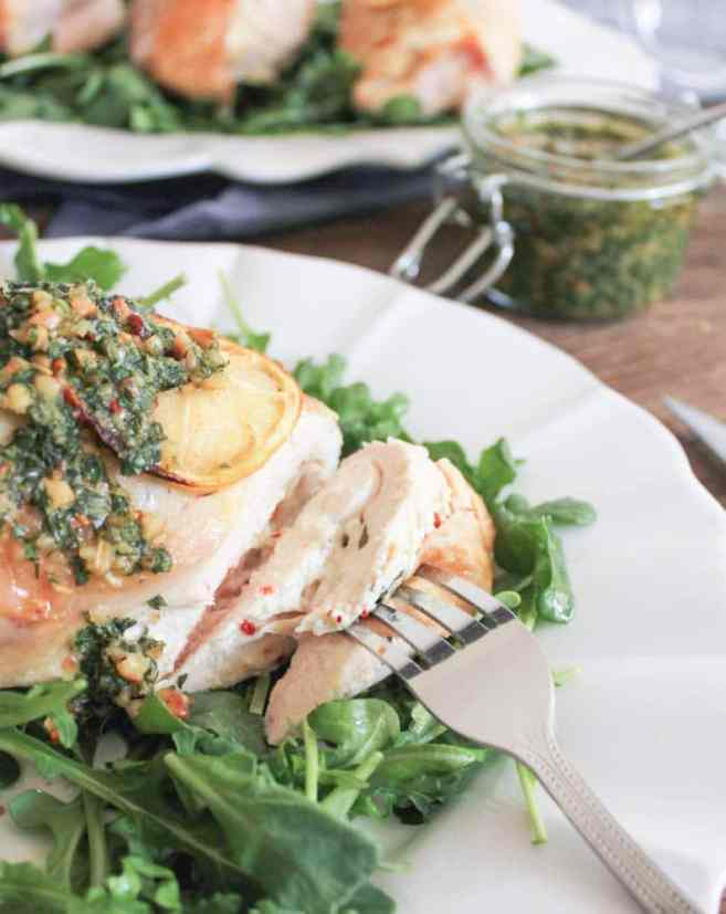 Goat-Cheese-Stuffed-Lemon-Chicken-Breasts-with-Rustic-Basil-Pesto-5