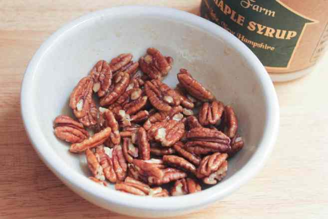 Vegan-Shaved-Vegetable-Salad-with-Farro-and-Maple-Roasted-Pecans-step-1