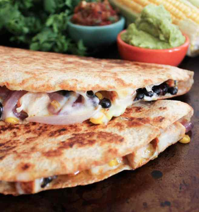 Spicy-Chicken-Quesadillas-with-Corn-Black-Beans-and-Caramelized-Onions-9