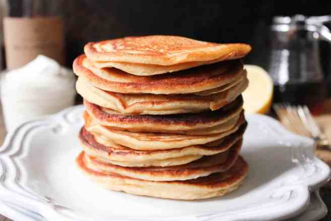 Cinnamon-Ricotta-Pancakes-with-Maple-Bourbon-Whipped-Cream-8