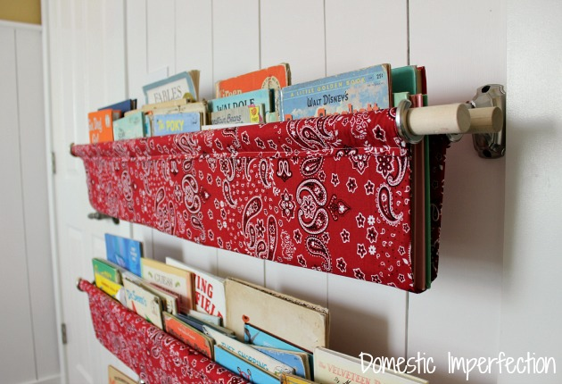 How To Make Book Slings Domestic Imperfection