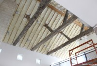 A Corrugated Metal Ceiling