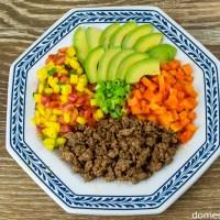Mango Salsa Taco Bowl Recipe