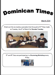 School-newsletter-March-2014-cover