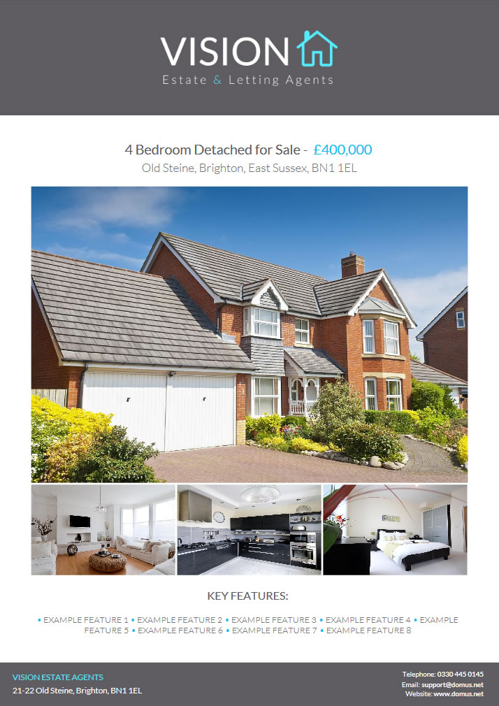 PDF Property Brochures Domus Estate Agent and Letting Agency Software