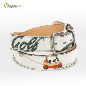 "Cintura modello ""White vintage golf"""